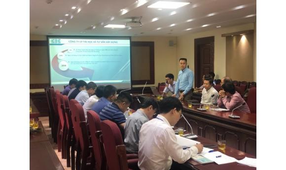 Workshop: Smart Traffic Management Solution PTV OPTIMA - at Hanoi Department of Department of Transport