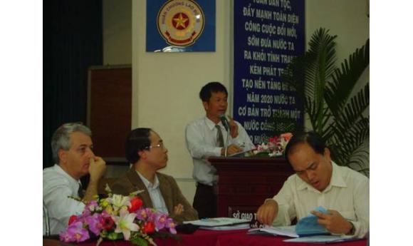 """Hội thảo: """"Giới thiệu các ứng dụng của thiết bị Georadar"""" diễn ra ngày 13/01/2012"""