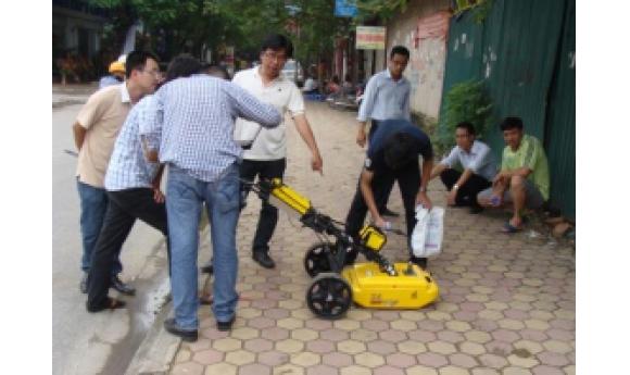 CIC tiếp tục tổ chức thành công đợt khảo sát thiết bị Radar xuyên đất (GPR Georadar) tại Hà Nội