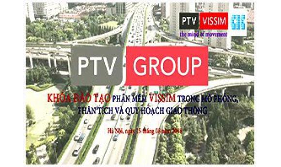 Hội thảo đào tạo: Mô phỏng thiết kế cảnh quan Nút giao thông với VISSIM 10 lần I