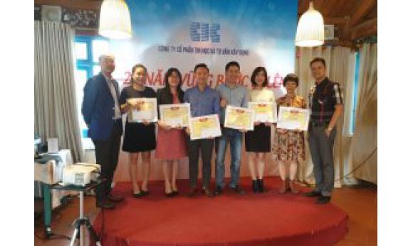 Lễ Kỉ niệm 28 năm thành lập Công ty CIC