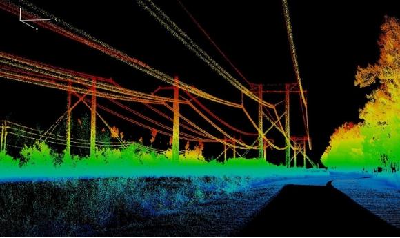 Giải pháp khảo sát đường dây truyền tải điện - Sử dụng công nghệ Lidar kết hợp với Máy bay không người lái UAV