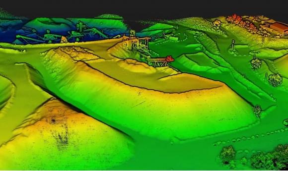 Công nghệ LiDAR – giải pháp hiện đại cho khảo sát 3D