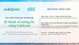 Phần mềm BIM CubiCost tổ chức Hội nghị online với...