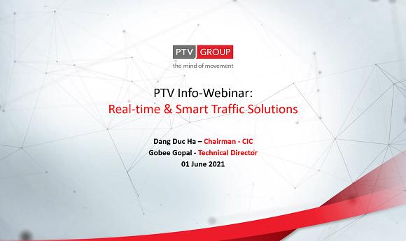 """Hội thảo về """"Giải pháp quản lý Giao thông thông minh theo thời gian thực"""" do công ty CIC và hãng PTV Group phối hợp tổ chức đã diễn ra thành công tốt đẹp"""