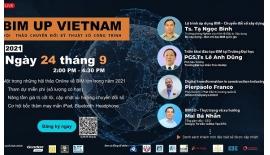 """Hội thảo trực tuyến """"BIM Up Vietnam Chuyển đổi..."""