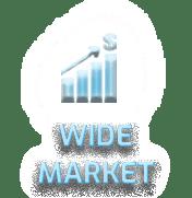Wide market